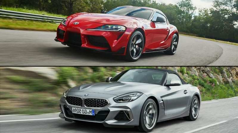 74 Best 2020 Toyota Supra Vs BMW Z4 Redesign And Review