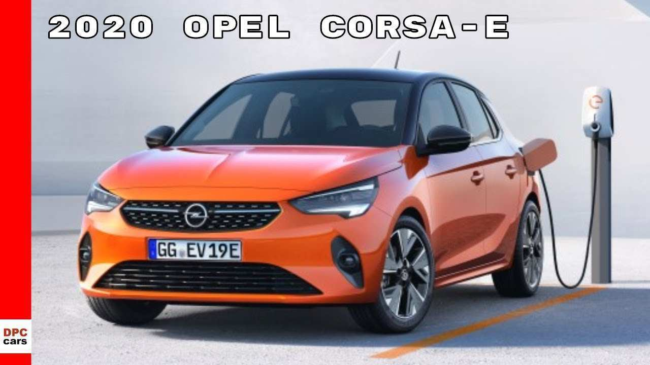 74 New Opel Corsa Electric 2020 Spy Shoot