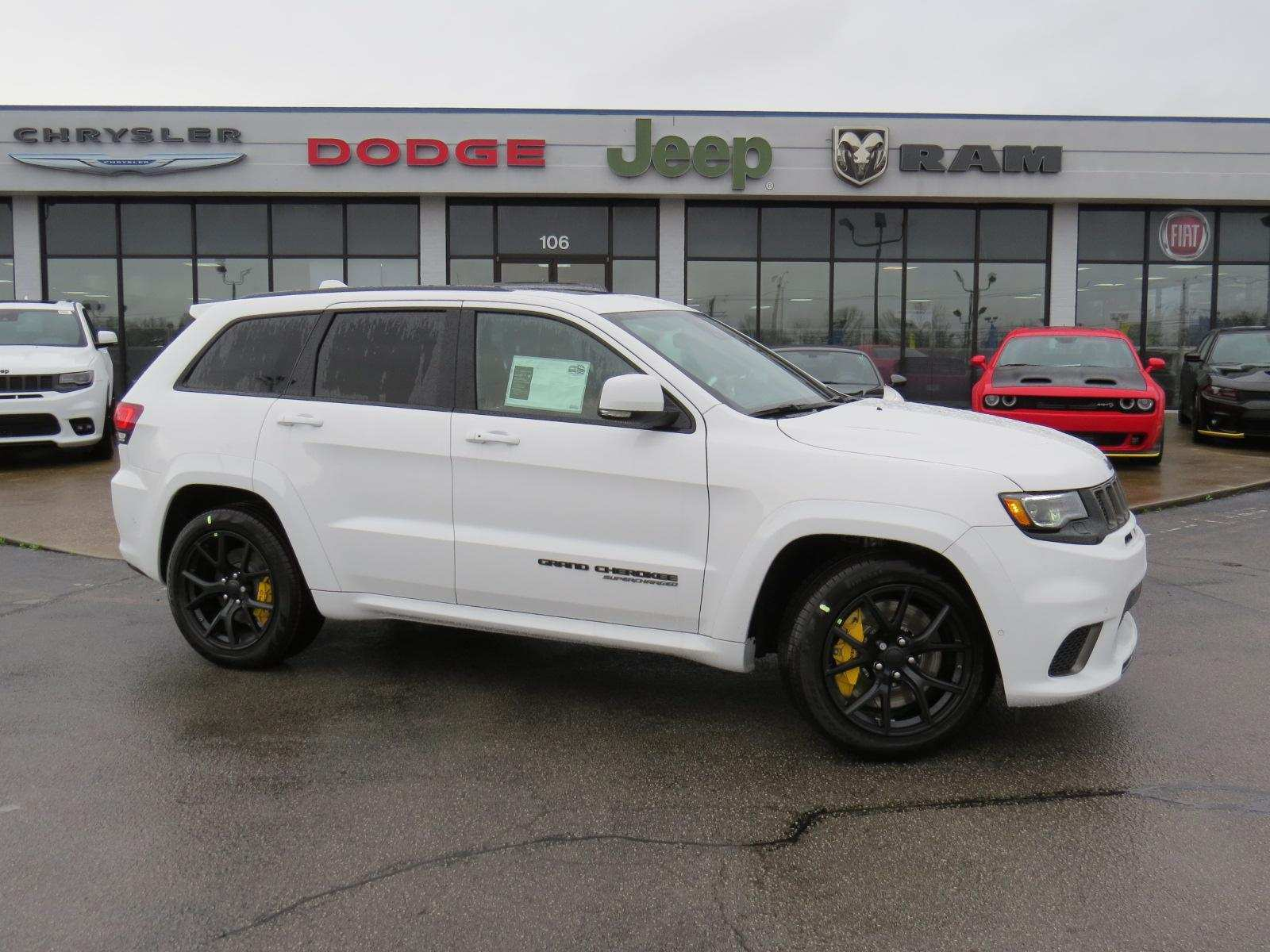 74 The 2019 Jeep Grand Cherokee Trackhawk Pictures