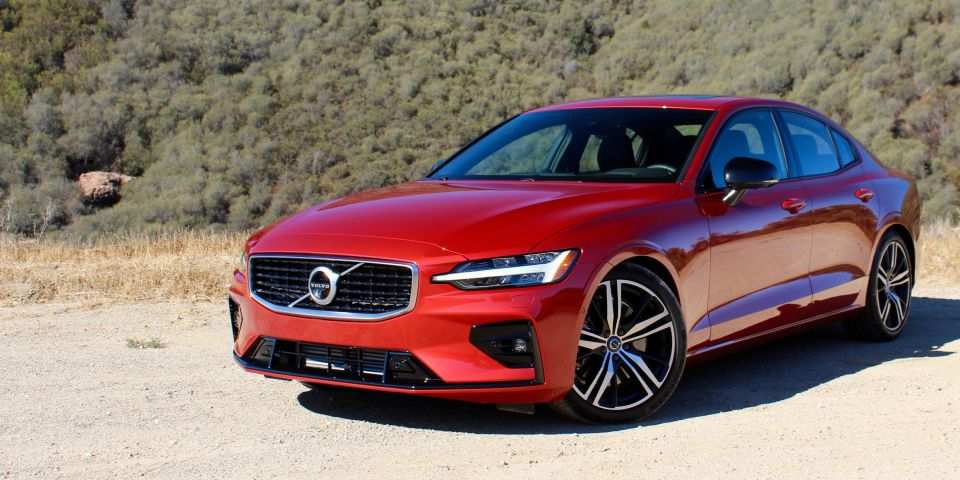 74 The 2019 Volvo S60 R Spy Shoot