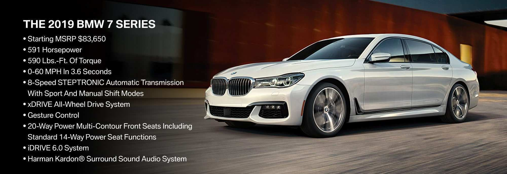 74 The 2020 BMW 7 Series Perfection New Performance And New Engine