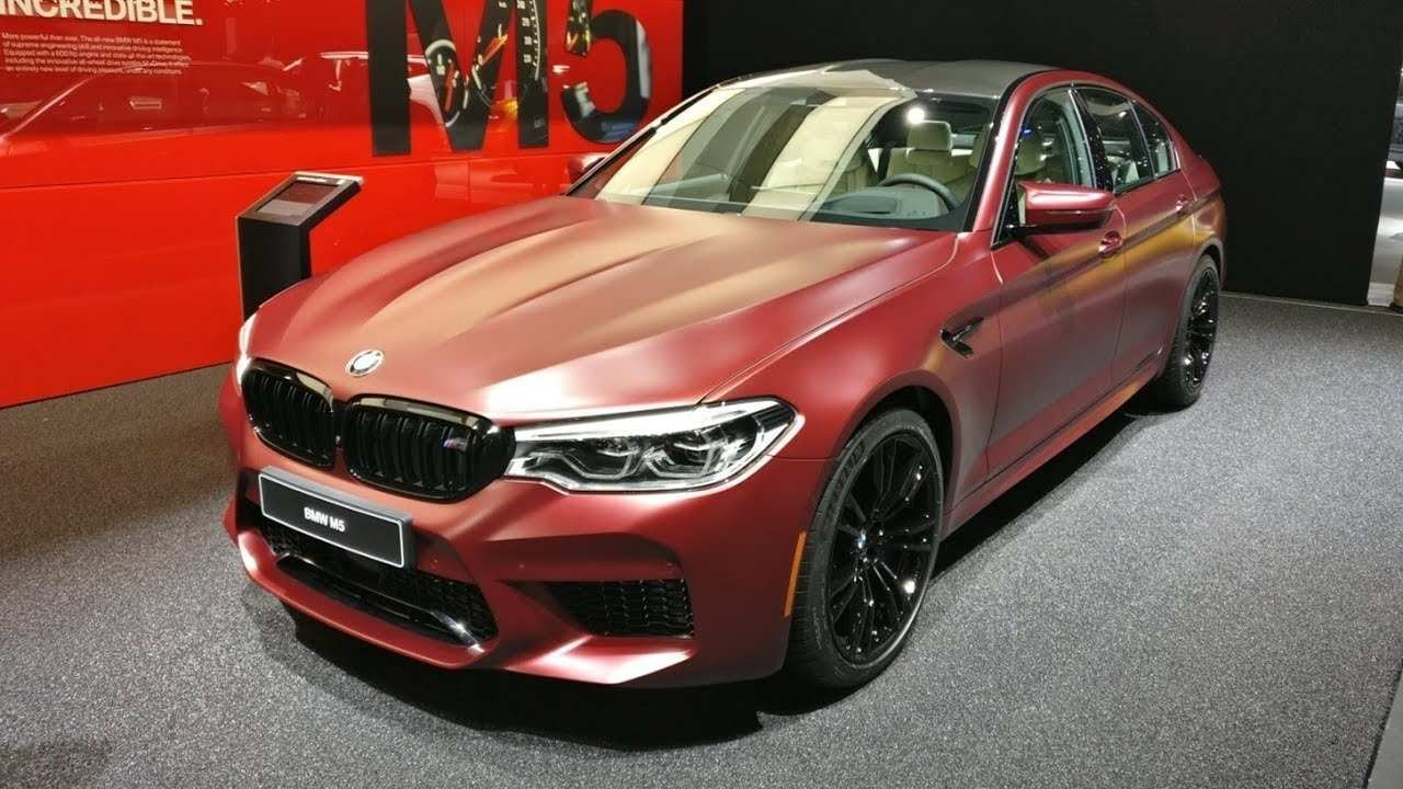 74 The 2020 BMW M5 Xdrive Awd Interior