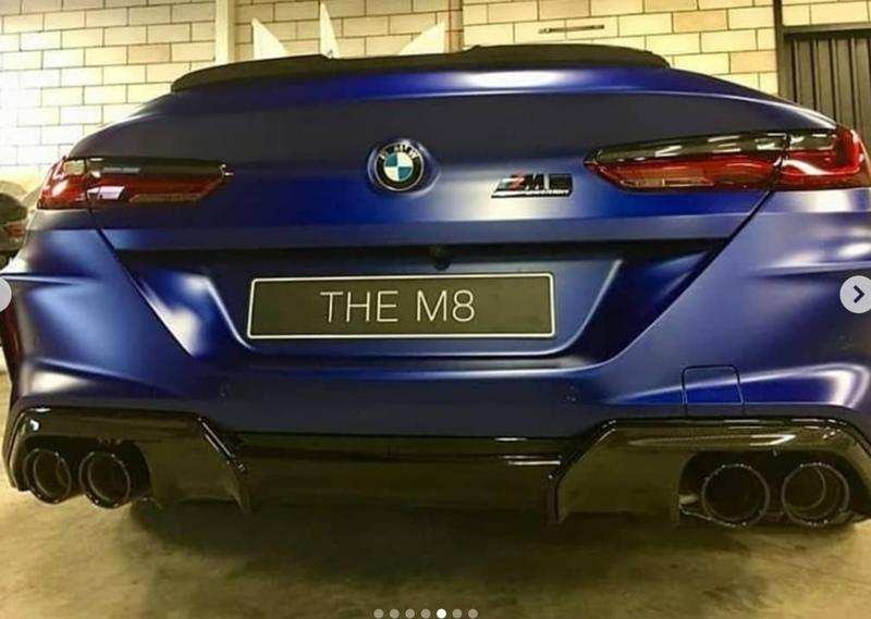 74 The 2020 BMW M8 New Concept
