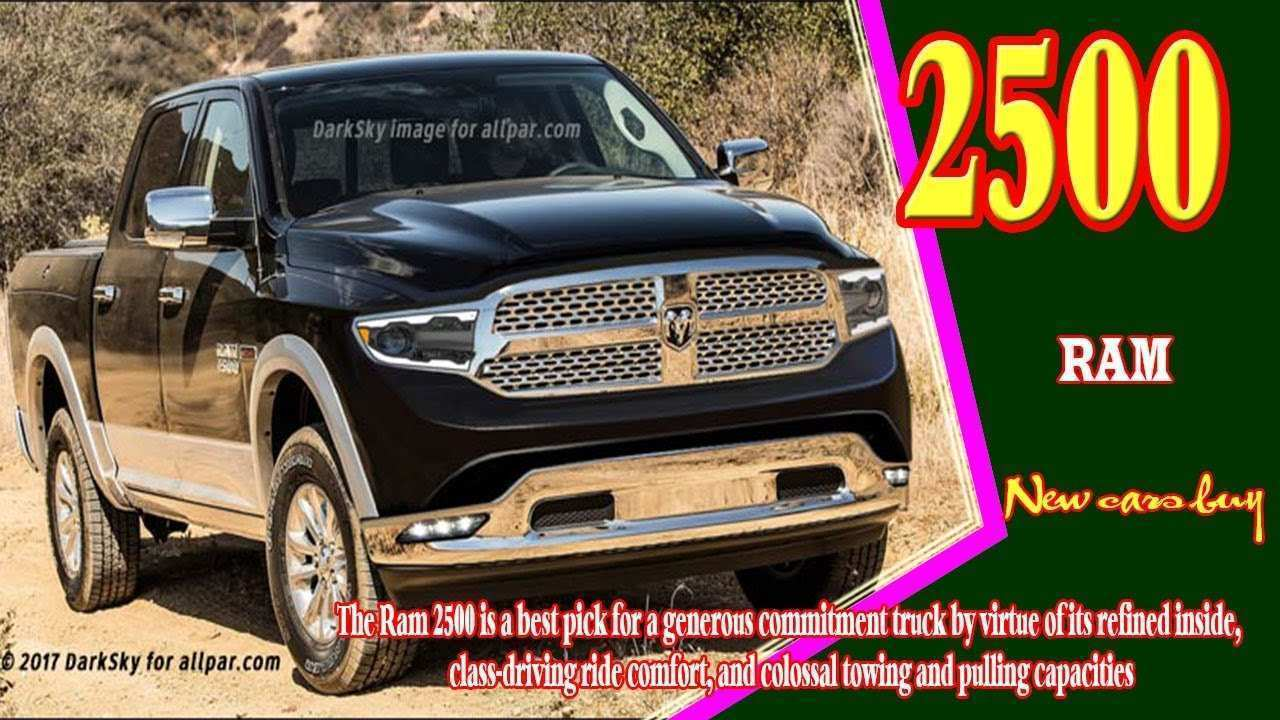 74 The Best 2019 Ram 2500 Diesel Spesification