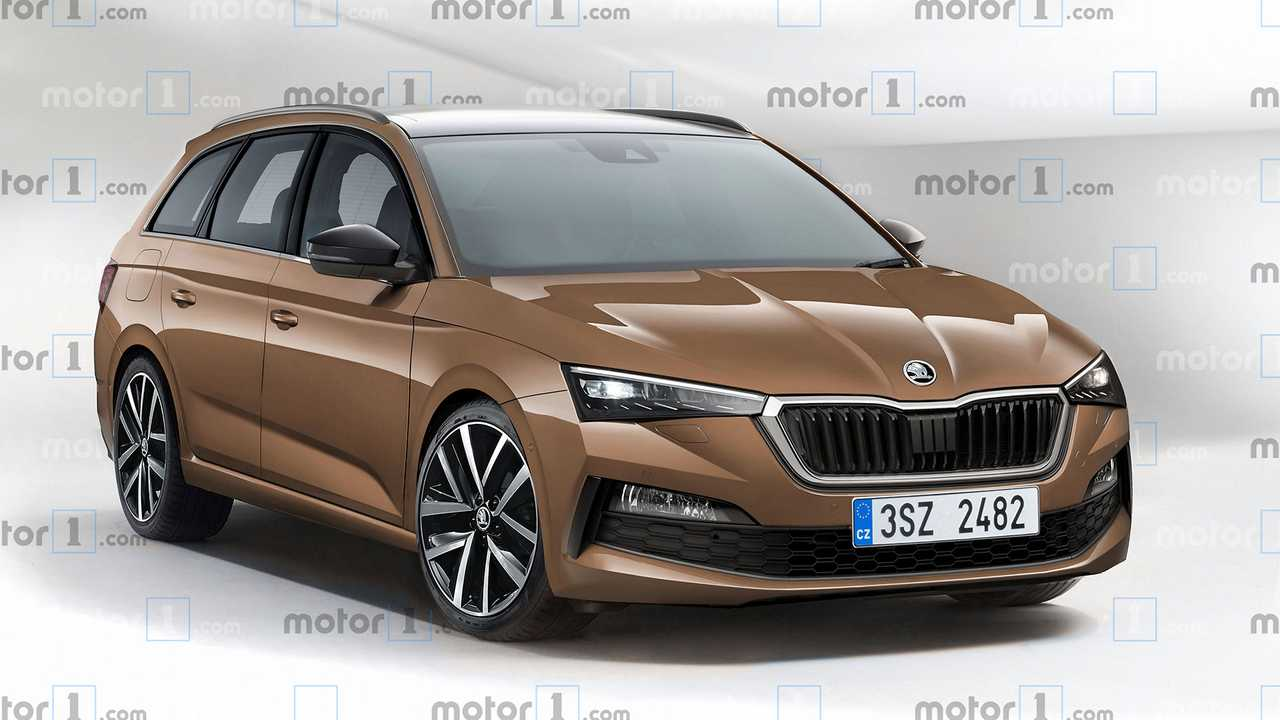 74 The Best 2020 The Spy Shots Skoda Superb Style