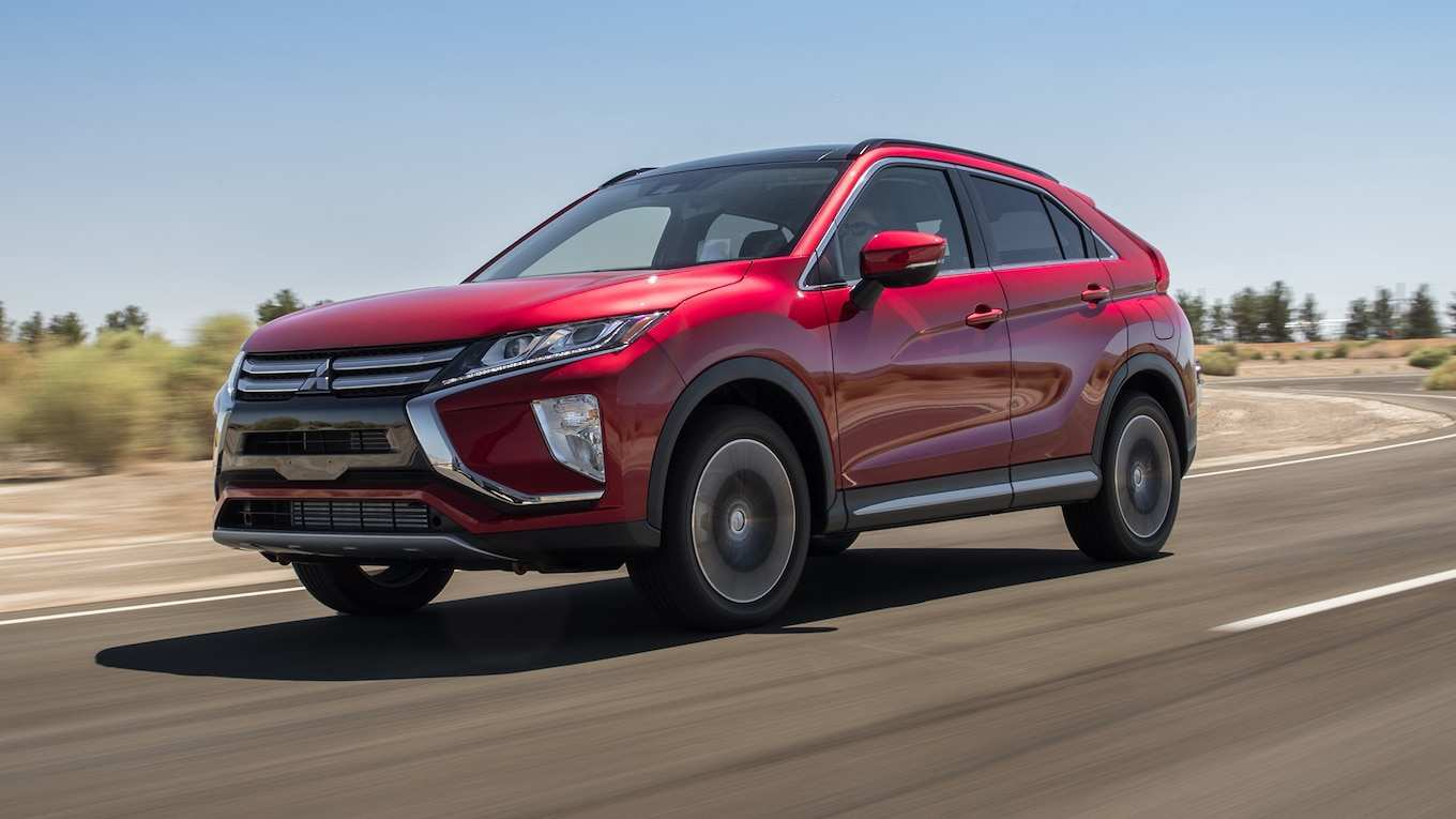 74 The Mitsubishi Eclipse Cross Hybrid 2020 History