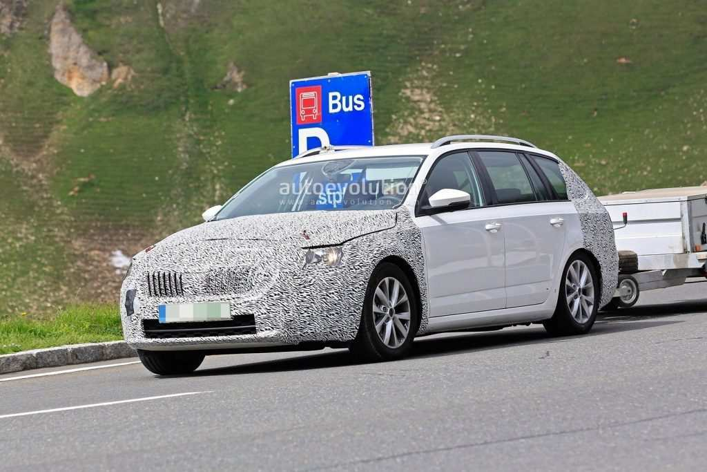 74 The Spy Shots Skoda Superb Concept And Review