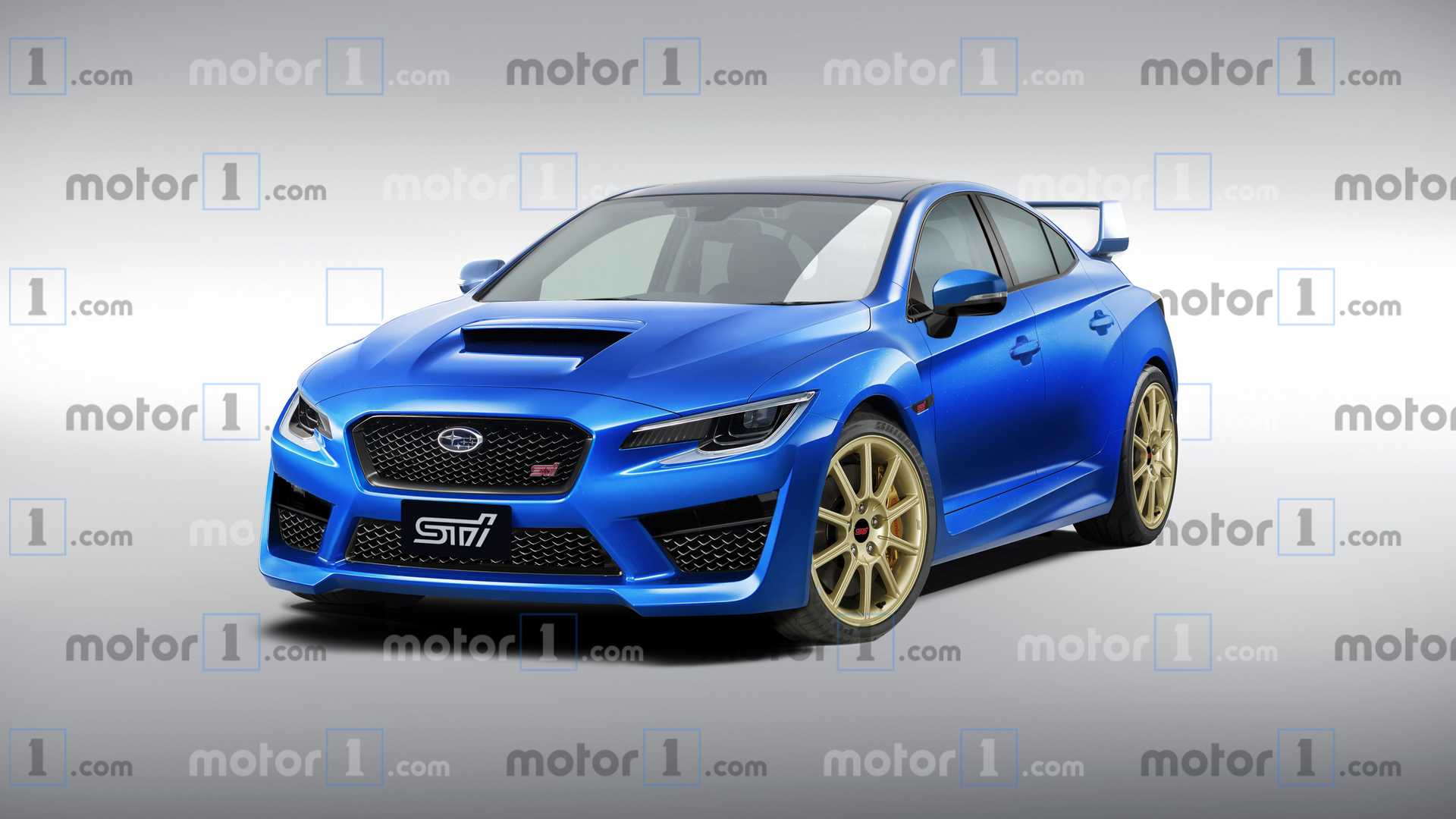 74 The Subaru Sti 2020 Horsepower Wallpaper