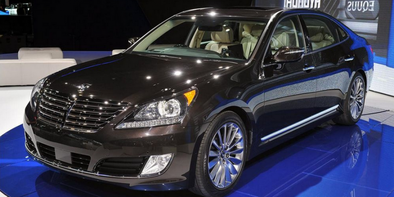75 A 2019 Hyundai Equus Engine