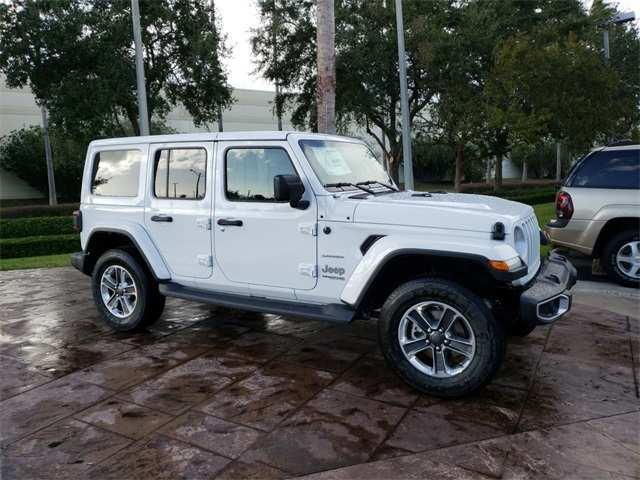 75 A 2019 Jeep Wrangler Unlimited Ratings