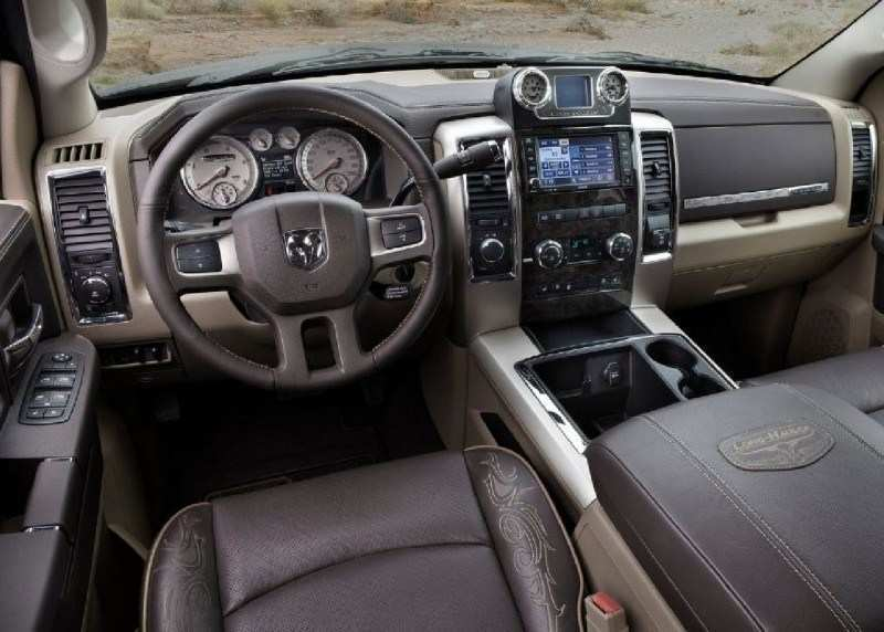 75 A 2020 Dodge Ram 3500 Interior Configurations