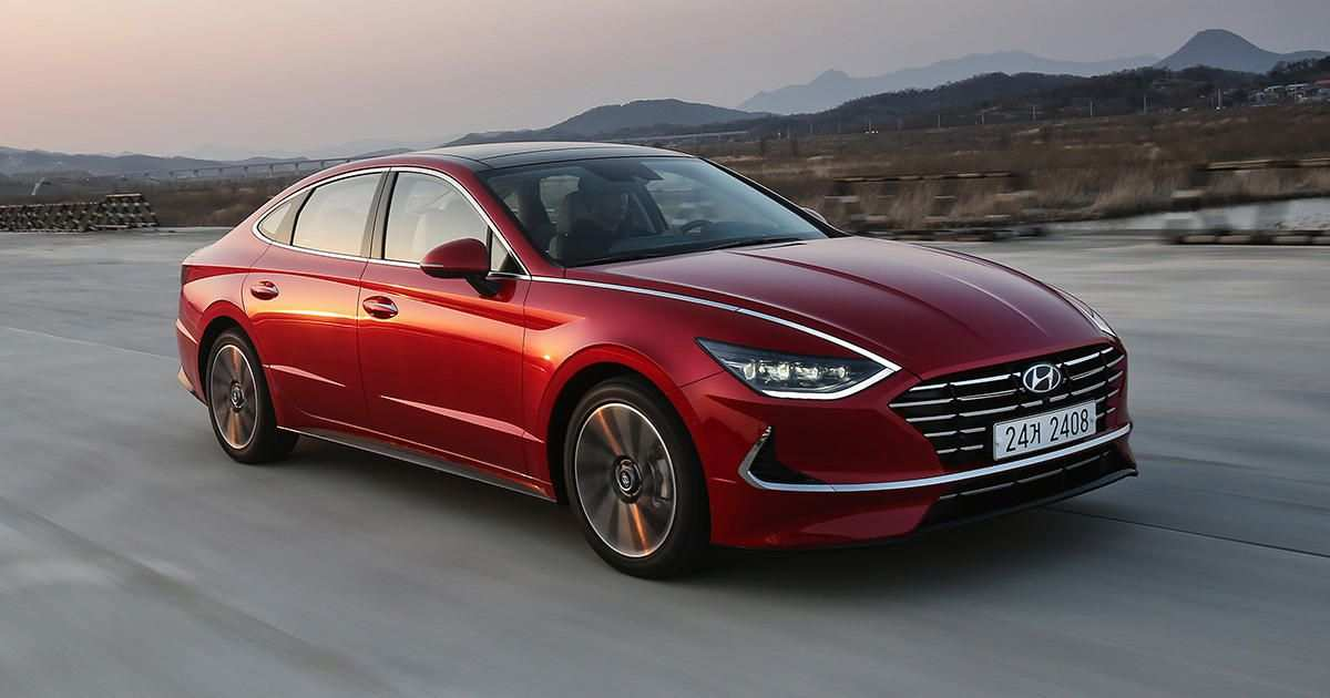 75 A 2020 Hyundai Sonata Review Wallpaper