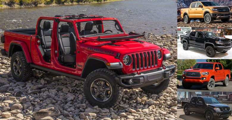 75 A 2020 Jeep Gladiator Length Overview