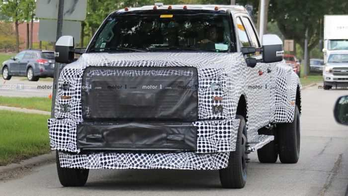 75 A 2020 Spy Shots Ford F350 Diesel Performance And New Engine