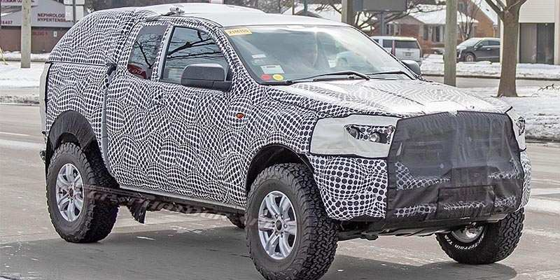 75 A Ford Bronco 2020 Spy Photos Interior
