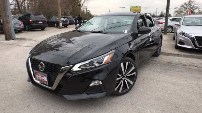 75 All New 2019 Nissan Altima Black Research New