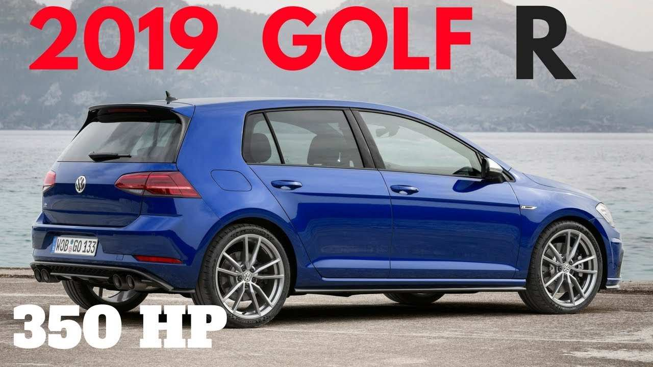 75 All New 2019 Volkswagen Golf R First Drive