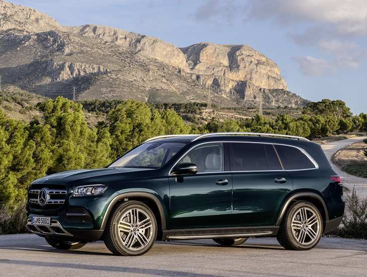 75 All New 2020 Mercedes GLS Spy Shoot