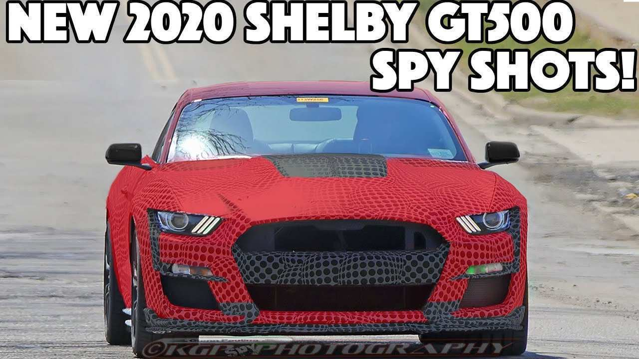 75 All New 2020 The Spy Shots Ford Mustang Svt Gt 500 Review