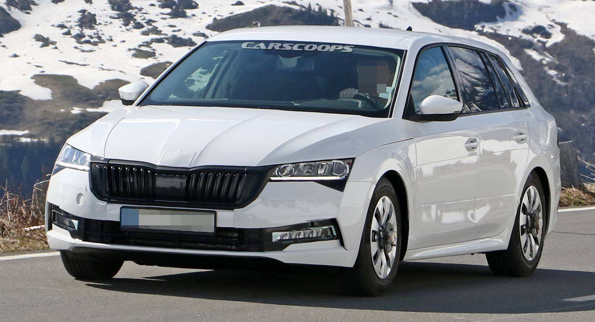 75 All New 2020 The Spy Shots Skoda Superb Pictures