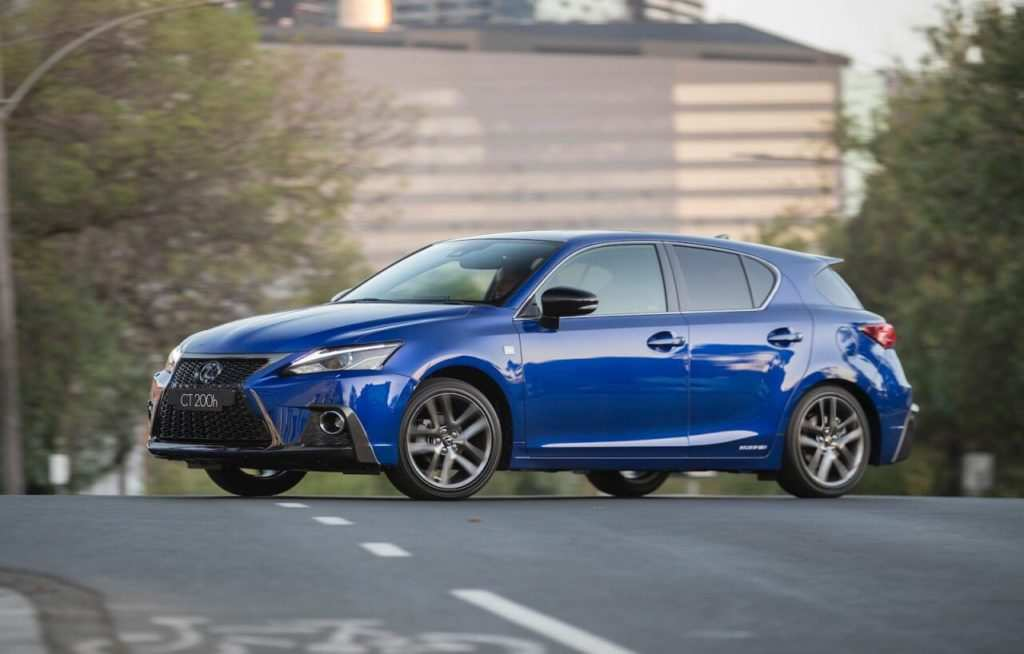 75 All New Lexus Ct 2019 Exterior