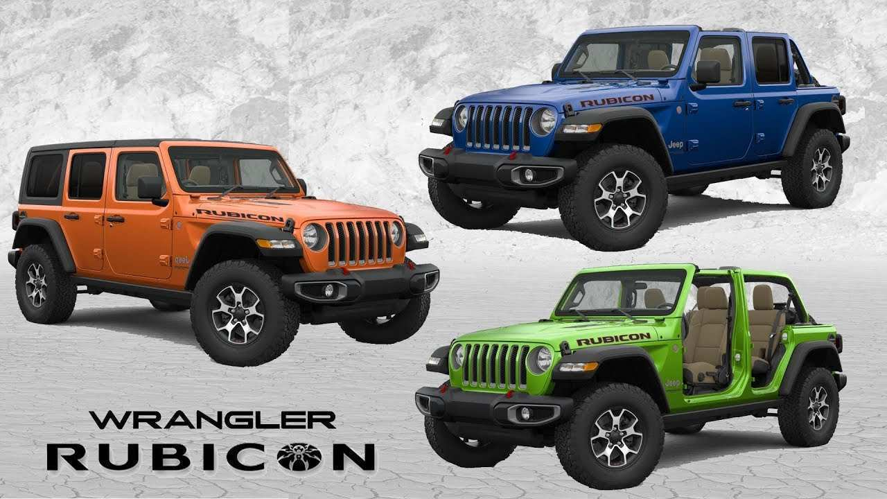 75 Best 2019 Jeep Jl Colors Images