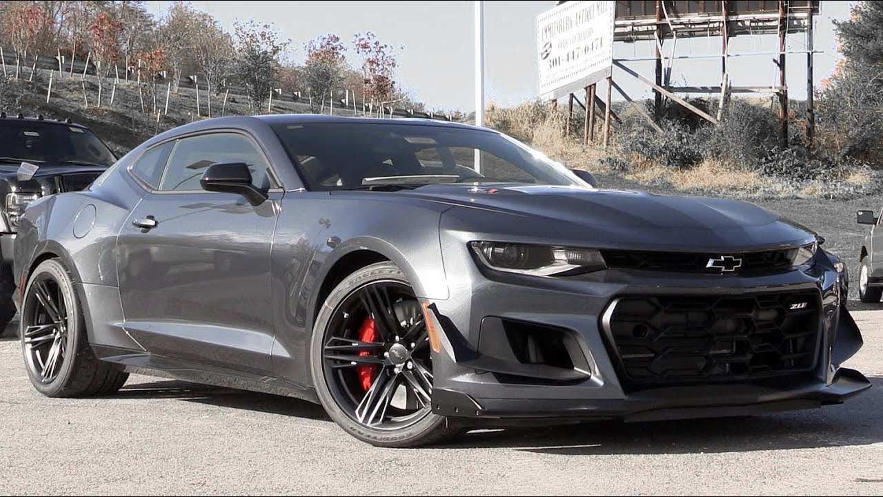 75 New 2019 The All Chevy Camaro Price And Release Date