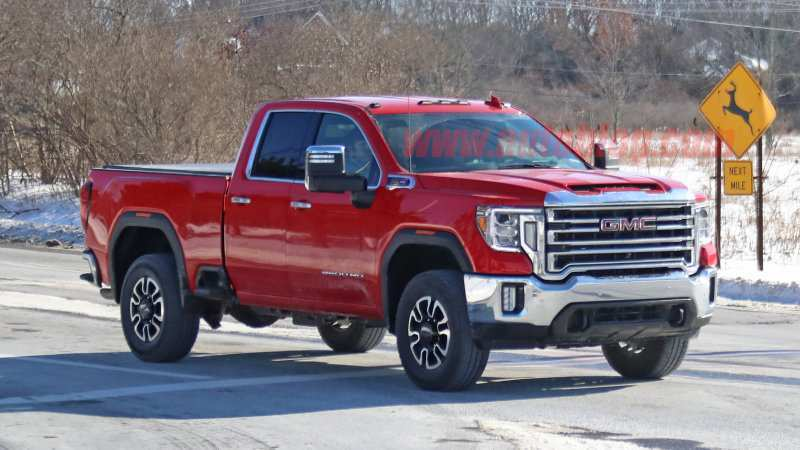 75 New 2020 GMC Sierra 1500 Diesel Redesign And Concept