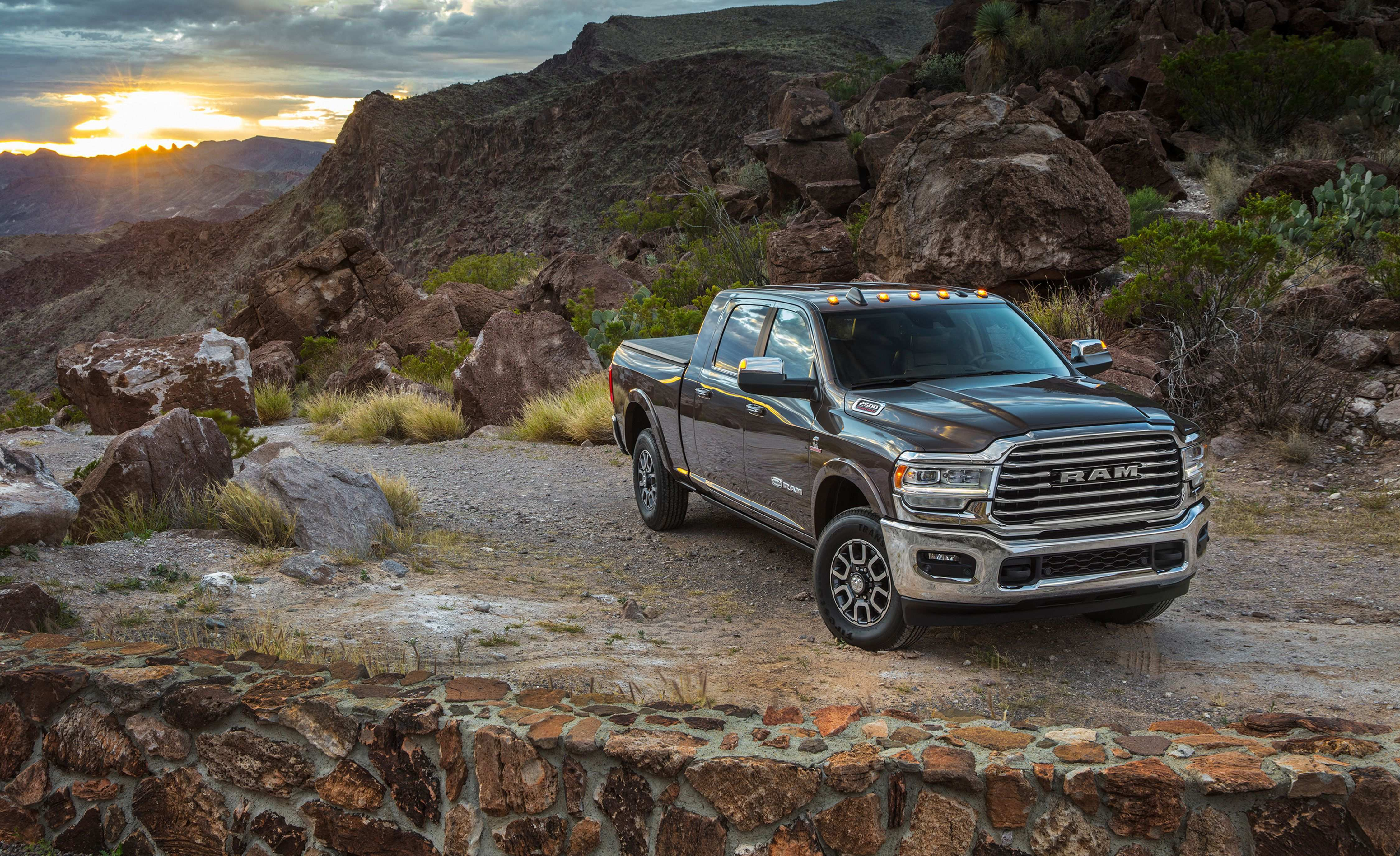 75 New 2020 Ram 2500 Diesel Spy Shoot