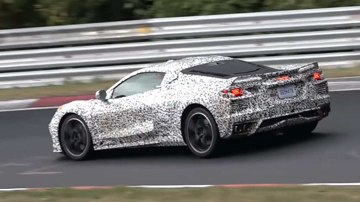 75 New Chevrolet Corvette C8 2020 Concept