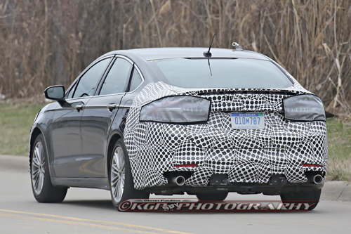 75 New Spy Shots Ford Fusion Redesign And Concept