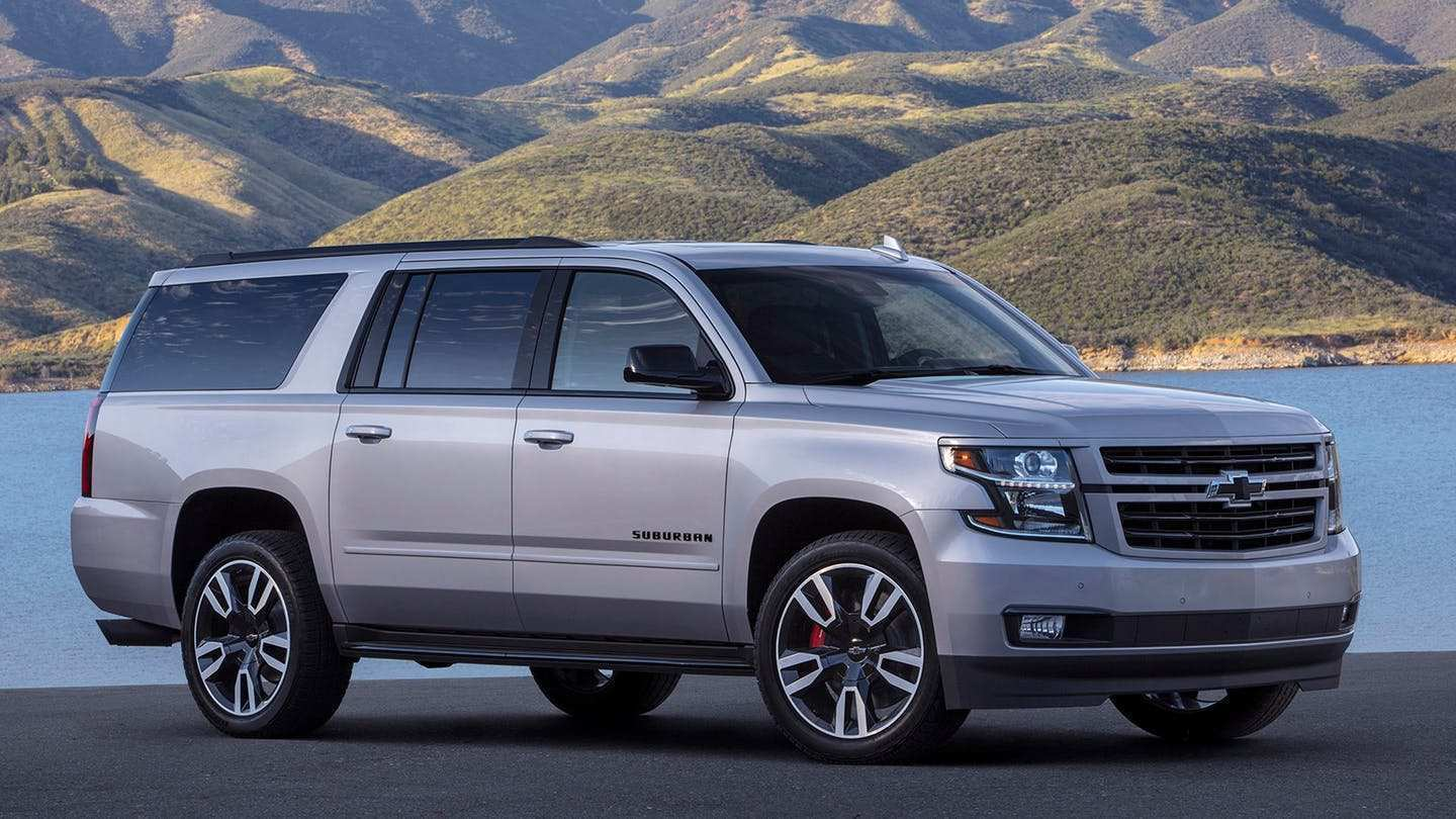 75 The 2019 Chevrolet Suburban Review And Release Date