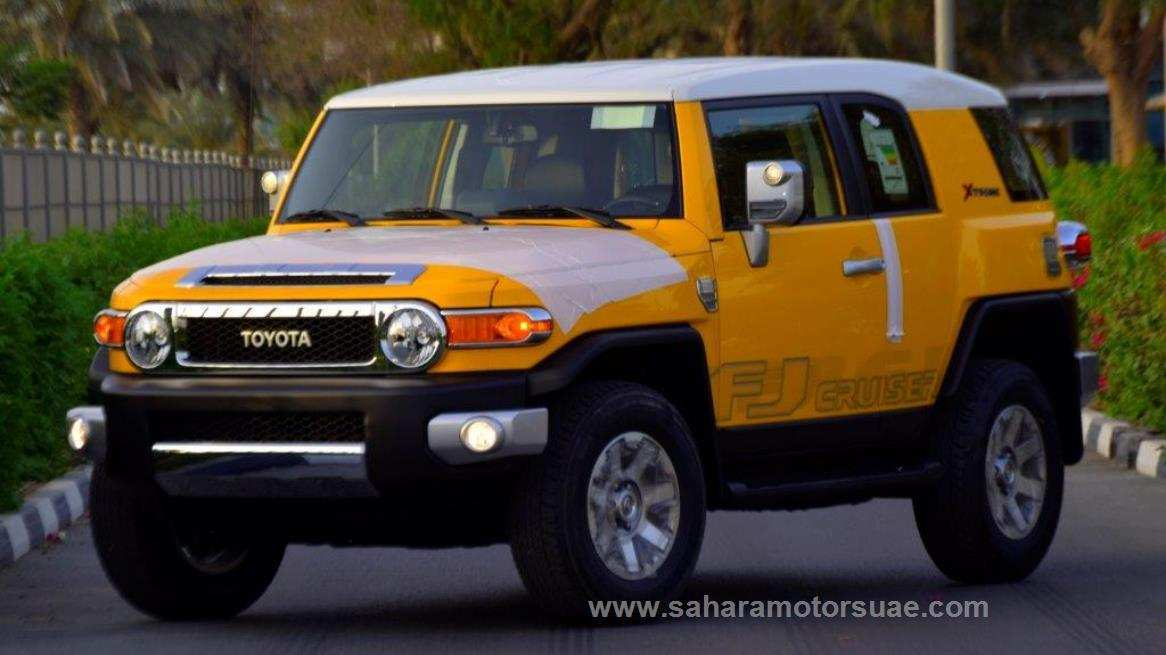 75 The 2019 Toyota FJ Cruiser Release
