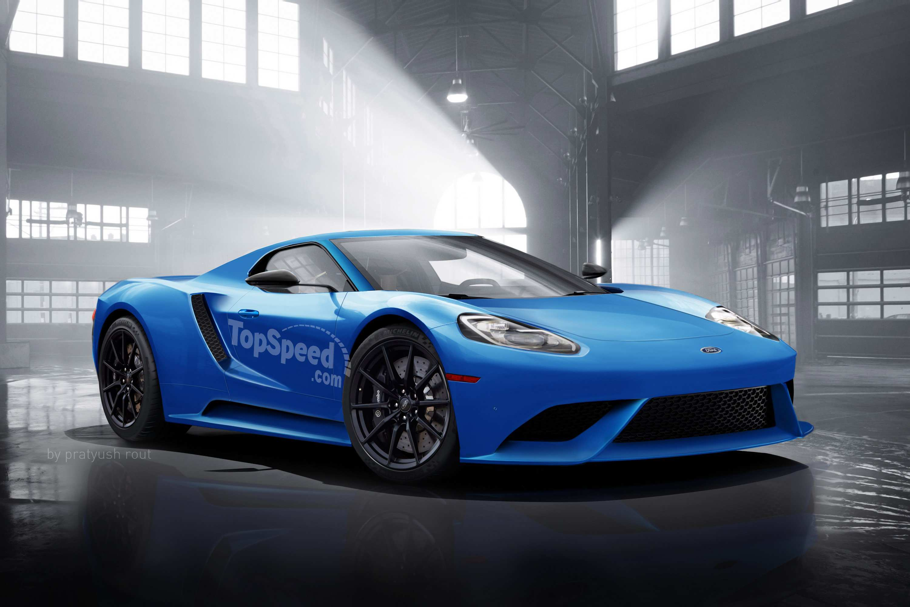 75 The 2020 Ford Gt Supercar Engine