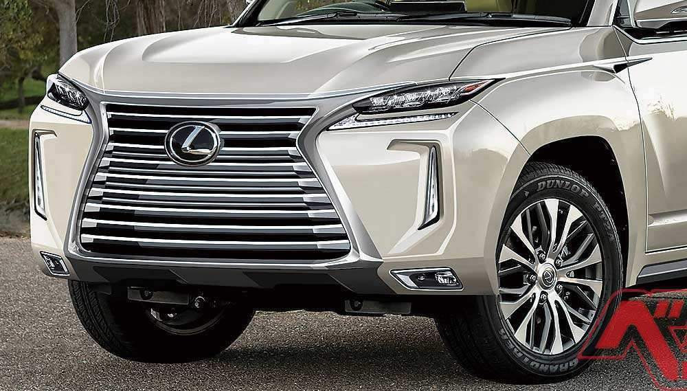 75 The Best 2020 Lexus LX 570 Redesign And Review