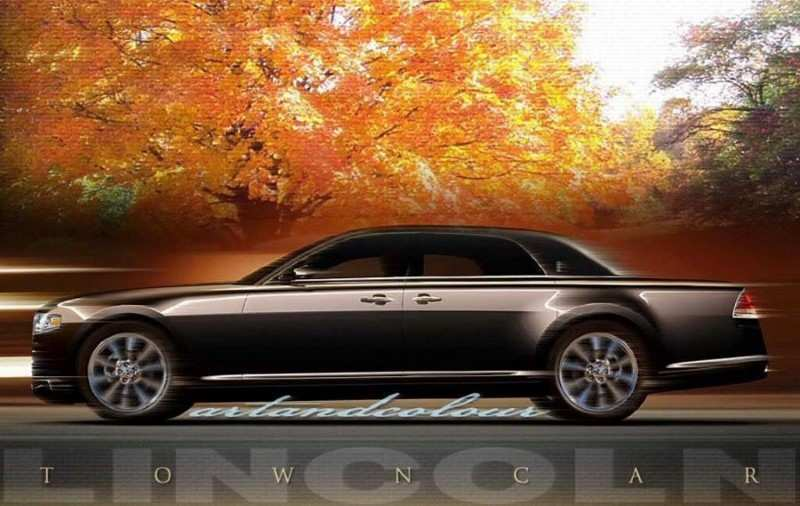 75 The Best 2020 Lincoln Town Car Review And Release Date