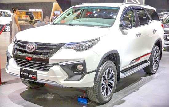 75 The Toyota Fortuner 2020 Model Exterior