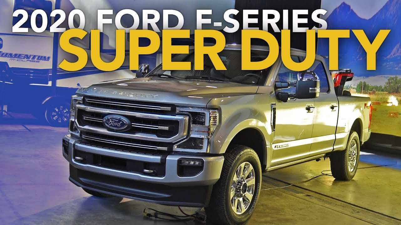 76 A 2020 Ford F 250 Exterior And Interior