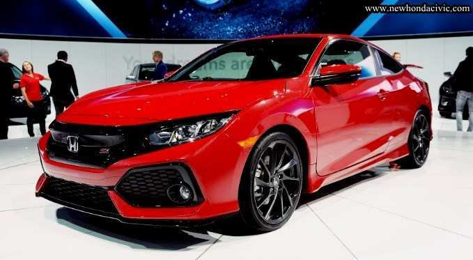 76 A 2020 Honda Civic Coupe Model