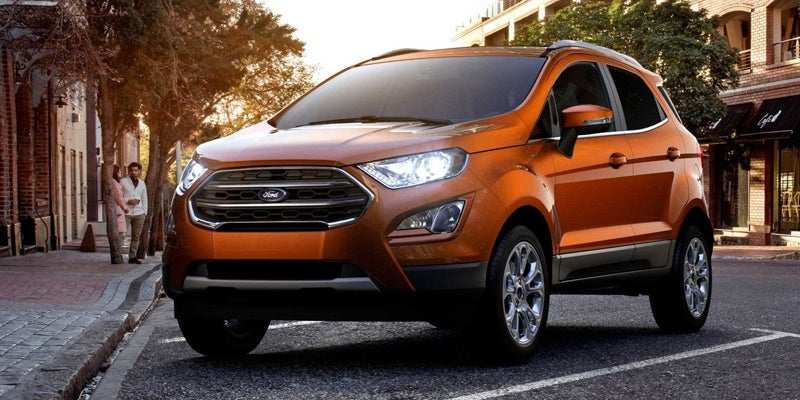 76 All New 2019 Ford Ecosport Research New