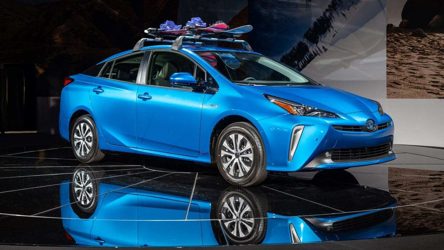 76 All New 2019 Toyota Prius Overview