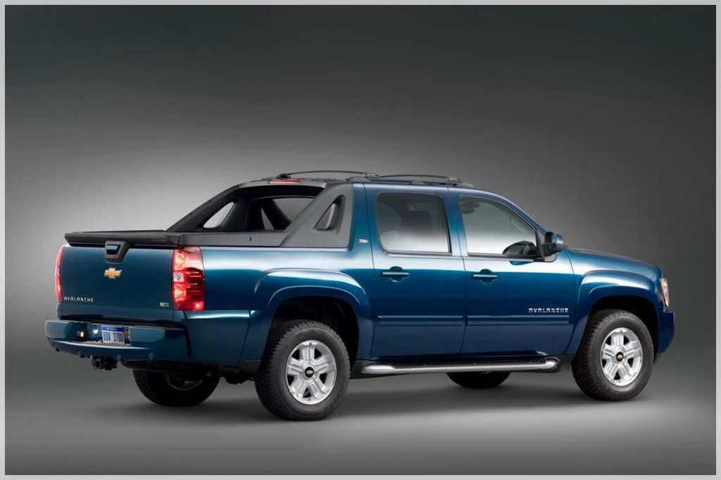 76 All New 2020 Chevy Avalanche Spy Shoot