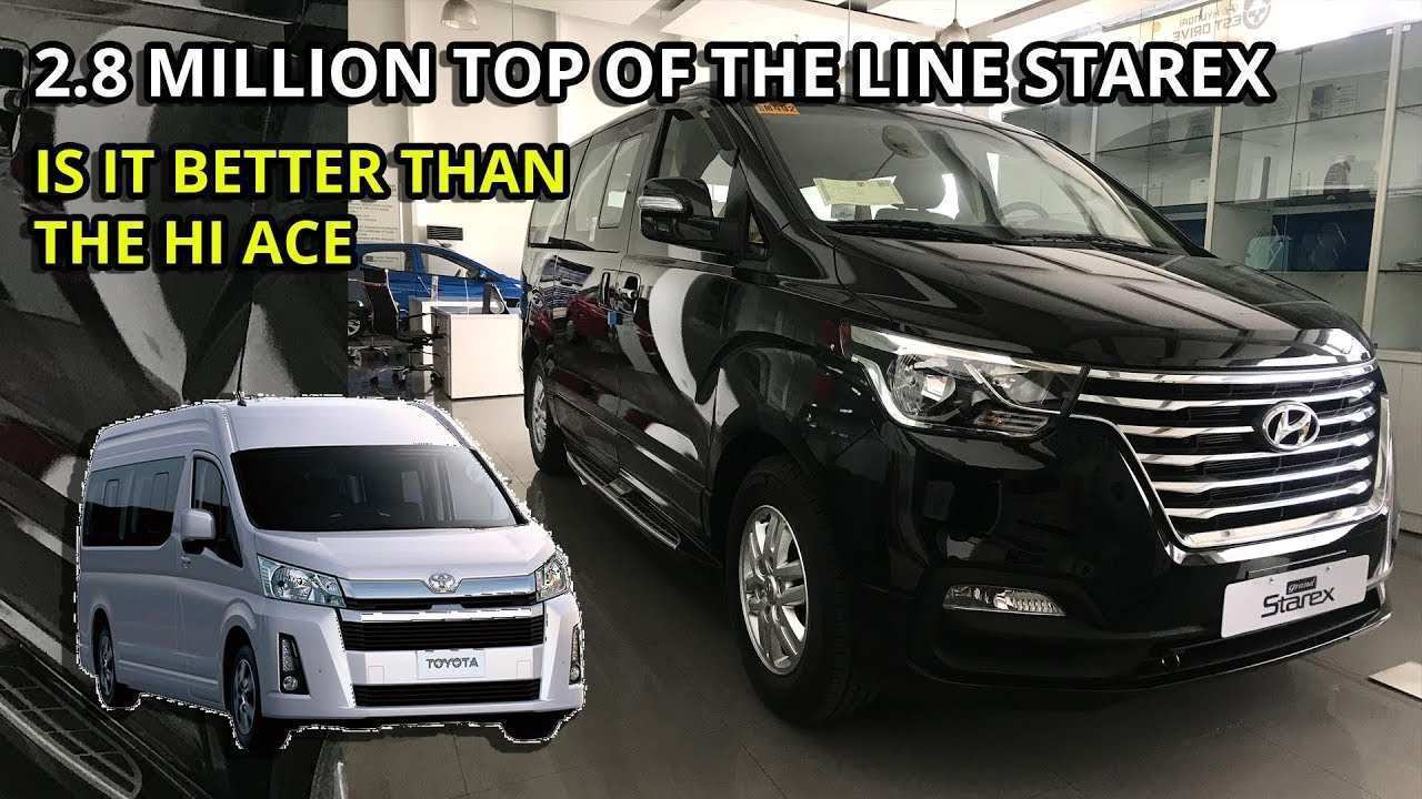 76 All New 2020 Hyundai Starex Review And Release Date
