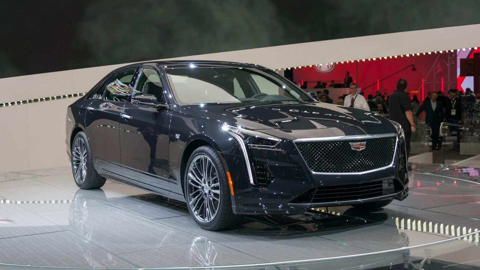 76 New 2019 Cadillac CT6 Spy Shoot