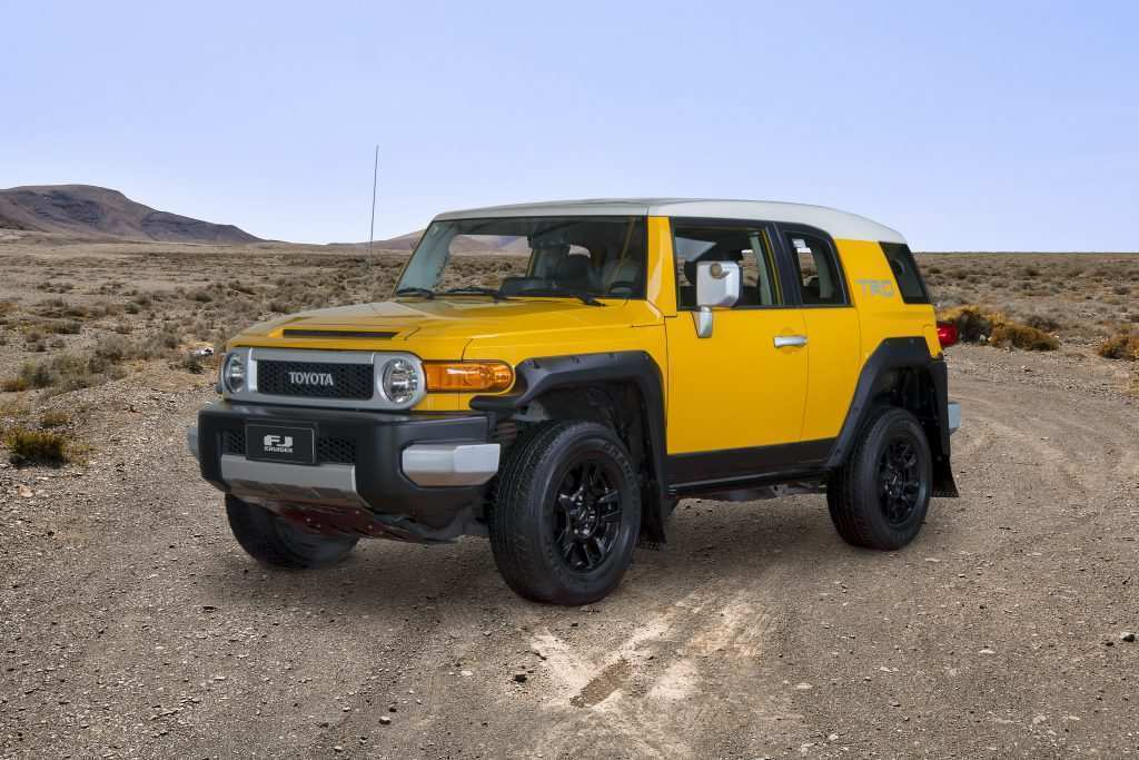 76 The 2019 Toyota FJ Cruiser Engine