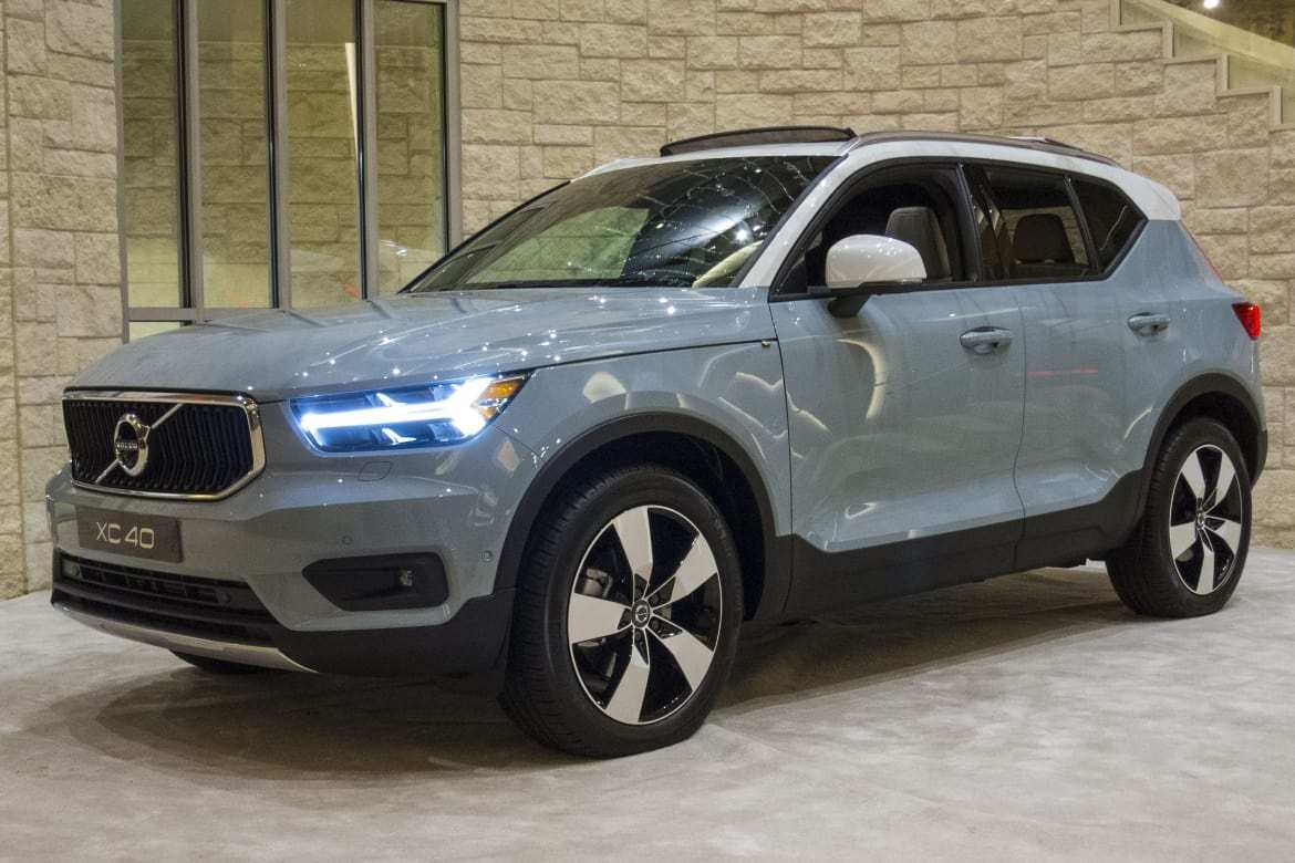 76 The 2019 Volvo Xc40 Gas Mileage Performance and New Engine