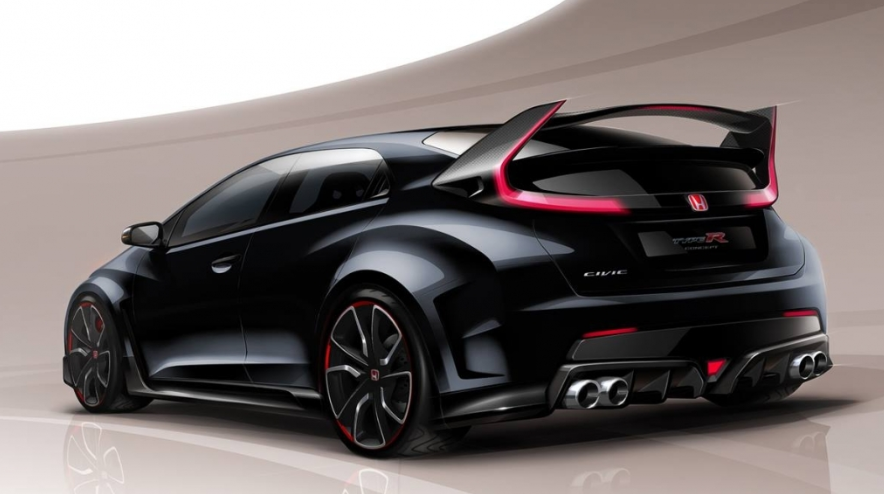 76 The 2020 Honda Prelude Type R Picture