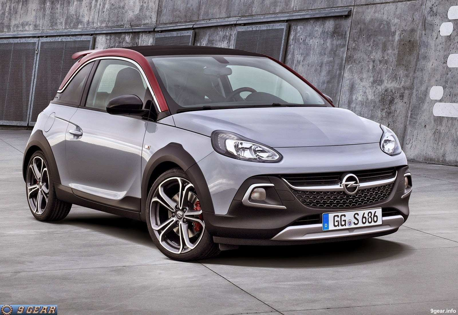 76 The 2020 Opel Adam Rocks First Drive