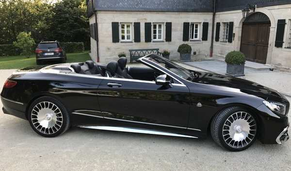 76 The Mercedes S650 Maybach 2019 Speed Test