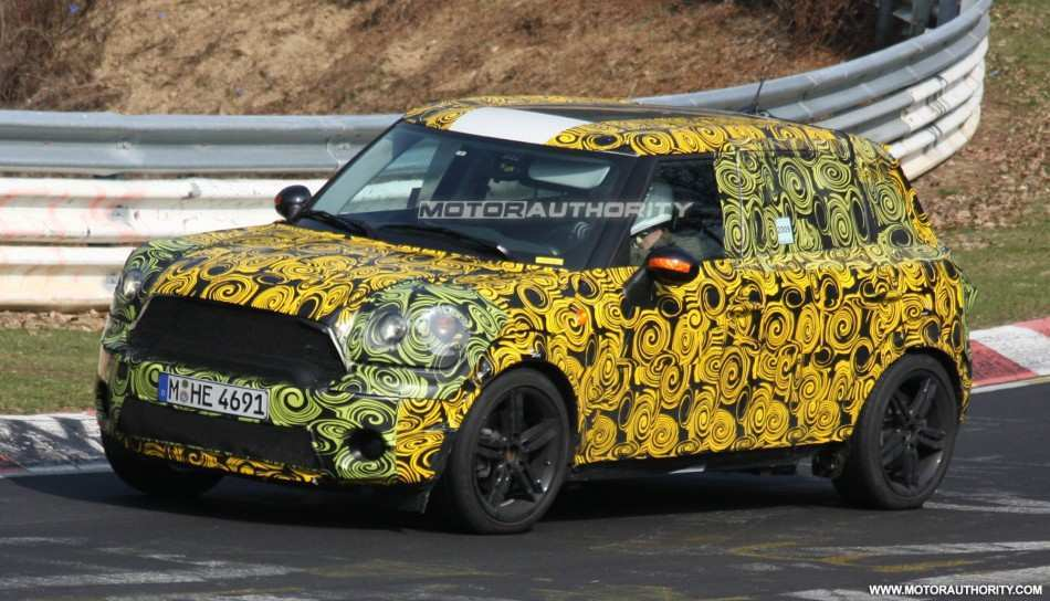 76 The Spy Shots Mini Countryman Rumors